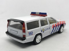 Cararama / Hongwell - Volvo Estate Politie - Netherlands Police Car -  Miniature Die Cast Metal Scale Model Emergency Services Vehicle (firehouse.ie) Tags: automobile l'auto coche cars cops vehicles miniatures miniature models model metal holland car police politie vehicle volvo