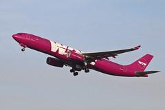 Airbus A330 TF-GAY WOW Air (Jarco Hage) Tags: schiphol amsterdam ams eham byjarcohage aviation airplane vliegtuig aircraft vliegtuigen nederland netherlands airport airbus a330 tfgay wow air