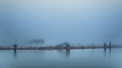 A place to unwind (Ingeborg Ruyken) Tags: sneeuw morning maximakanaal empel mist instagram 500pxs fog natuurfotografie ochtend flickr snow