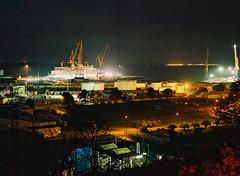 MS Queen Elisabeth en forme de radoub au port de Brest (ludob2011) Tags:
