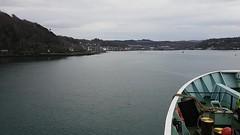 Approaching Oban (Donald Morrison) Tags: mvisleofarran caledonianmacbrayne calmac ferryisleofmull salen tobermory sea coast autumn scotland highlands oban