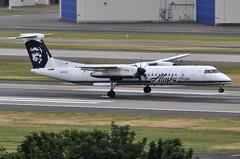 Alaska Airlines (Horizon Air) - Bombardier (De Havilland Canada) DHC-8-402Q (Dash 8 / Q400) - N412QX - Portland International Airport (PDX) - June 3, 2015 4 111 RT CRP (TVL1970) Tags: nikon nikond90 d90 nikongp1 gp1 geotagged nikkor70300mmvr 70300mmvr aviation airplane aircraft airlines airliners portlandinternationalairport portlandinternational portlandairport portland pdx kpdx n412qx alaskaairlines horizonair horizon alaskaairgroup dehavillandcanada dehavilland dhc dehavillandcanadadhc8 dehavillandcanadadash8 dehavillanddhc8 dehavillanddash8 dhc8 dash8 q400 dhc8400 dhc8402 dhc8402q bombardieraerospace bombardier bombardierdash8 bombardierq400 prattwhitney pw prattwhitneycanada pwc prattwhitneycanadapw100 prattwhitneycanadapw150 prattwhitneycanadapw150a pwcpw100 pwcpw150 pwcpw150a pw100 pw150 pw150a turboprop tiresmoke