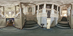 The Vyne (Terrycym) Tags: flickrclickx hampshire thevyne nationaltrust sherbournestjohn basingstoke 360 panorama equirectangular basingstokeanddeane england unitedkingdom staircase palladian