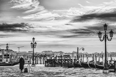 Existence (Anna Kwa) Tags: piazzasanmarco stmarkssquare sunrise morning photographer gondola venice italy annakwa nikon d750 2401200mmf40 my lone exitstance always seeing heart soul throughmylens life journey fate destiny passion photography travel world today