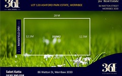 Lot 120 Mansfield Drive, Werribee VIC