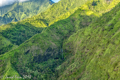 Hanakapiai Falls, Kauai (SewerDoc (4 million views)) Tags: hawaii helicopter islandhelicopters kauai hankapiaifalls waterfalls waimeacanyon canyon landscape mountainscape rainforest