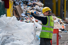 100608 Viridor MRF 401 (hoffman) Tags: materialsrecoveryfacility bluecollar commercialwaste domesticwaste industrialwaste lowpay manuallabour manualwork mrf recovery viridor recoveredmaterials wasteprocessing collected collecting disposal disposing employment facility factory garbage handpicking industrial industry job jobs junk litter materials municipalwaste occupations picking processing recyclable recyclables recycle recycled recycling refuse rubbish salvaged scrap separating sorter sorters sorting technology throwaway trash waste work workers london uk gbr