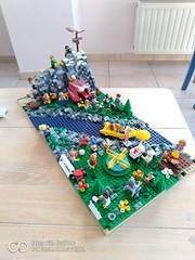 minifig scene (MOCquette brick studio) Tags: lego legomoc legobricks legocity legodiorama diorama legocityset 60134 60202 bricklink afol adultfanoflego