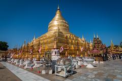 Schwezigon Paya (Seb & Jen) Tags: bagan myanmar burma birmanie mandalayregion myanmarbirmanie oldbagan nyaungu royaumedepagan schwezigon paya temple