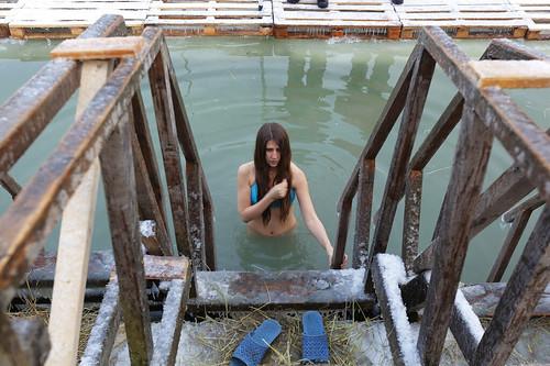 Epiphany bathing.