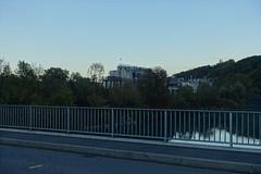 Firmenich factory @ Bridge @ Rhône @ La Plaine @ Sentier du Rhône @ Geneva (*_*) Tags: geneva switzerland sunny suisse geneve autumn fall october 2018 afternoon europe city sentierdurhone river walk laplaine rhone