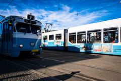 City of Gothenburg (Maria Eklind) Tags: tram höst city spårvagn sweden autumn gothenburg göteborg västragötalandslän sverige se