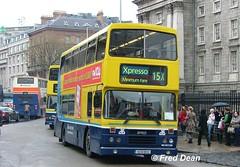 Dublin Bus RH172 (93D10172). (Fred Dean Jnr) Tags: april2005 dublin dublinbus busathacliath dublinbusyellowbluelivery leyland olympian alexander r collegegreendublin dublinbusroute15x rend rh172 93d10172 2003 l779sno