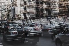 Beirut Traffic (hansekiki) Tags: lebanon libanon beirut multipleexposure mehrfachbelichtung canon 5dmarkiii