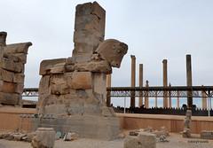 005 Hundred Column Hall (Sedsetoon), Northern Gate, Persepolis  (3)..JPG (tobeytravels) Tags: artaxerxes xerxes ahurmazda alexanderthegreat