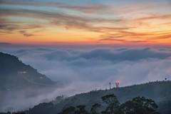 梅山36灣~雲漫雲梯~ Sunset (Shang-fu Dai) Tags: 台灣 taiwan 嘉義 clouds nikon d800e sky 雲海 梅山 太平雲梯 太平老街 36灣 landscape formosa 風景 雲 戶外 天空 afs1635mmf4