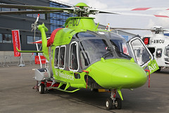 G-PICU Augusta Westland AW169 Childrens Air Ambulance Farnborough Air Show 18th July 2018 (michael_hibbins) Tags: gpicu augusta westland aw169 childrens air ambulance side on farnborough show 18th july 2018 aeroplane aviation aircraft aerospace airplane aero airshow airfields airport airports helicopter heli helicopters civil commercial blade blades rotor rotors g british britain united kingdom uk england english europe european