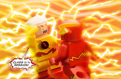 Enter The Speedforce (Andrew Cookston) Tags: lego dc comics theflash barry allen eobard thawne reverse flash speedforce rebirth geoffjohns andrew cookston andrewcookston
