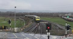 Irish Rail 4008 in Farranfore. (Fred Dean Jnr) Tags: irishrail iarnrodeireann january2015 caf mkiv markiv 4008 farranfore kerry farranforestationkerry