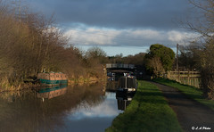 Pretty bridge. (Lee1885) Tags: bridge canal narrowboat cheshire chester