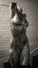 Ever Reaching (dayman1776) Tags: beautiful sony a6000 south carolina brookgreen gardens sculpture sculptor escultura statue torso female nude naked classical breasts bronze skulptur art museum