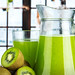 Healthy kiwi juice summer recipe