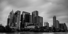 Cityscape (EricMakPhotography) Tags: usa austin texas water longexposure blackwhite black white cityscape nd1000