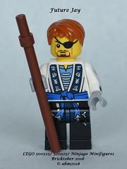 LEGO 5005257 Ninjago Minifigures - Future Jay (KatanaZ) Tags: lego5005257 ninjagominifigures harumionimaskofhatred futurejay mohawk nya lego bricktober