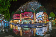 Xmas@Orchard 2018 (spintheday) Tags: christmas ion singapore orchard lightup raining wet reflection holiday shopping festive gift celebration friends gathering branded holidays vacation relax love couple children family stroll windowshopping
