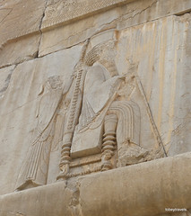 005 Hundred Column Hall (Sedsetoon), Southern Doorway, Persepolis (5).JPG (tobeytravels) Tags: artaxerxes xerxes ahurmazda alexanderthegreat