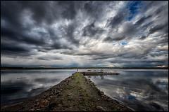 DSC_3271 (pettak) Tags: sweden sverige sky strömsund strömsvattudal nature north norrland northern water