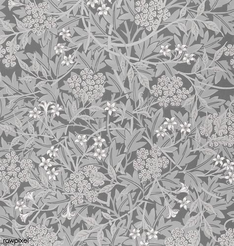 Jasmine by William Morris (1834-1896). Original from The MET Museum. Digitally enhanced by rawpixel.