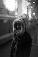 snowy (narrator of the tales) Tags: moscow monochrome noiretblanc portrait snow