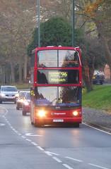 SLN 18451 - LX05LLM - WATLING STREET BEXLEYHEATH - SAT 17TH NOV 2018 (Bexleybus) Tags: stagecoach london adl dennis trident alx400 alexander tfl route 96 watling street bexleyheath kent da7 18451 lx05llm