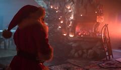 Guess who's back (PanMajster) Tags: mikołaj santa claus kominek sanki dym choinka ciemno fireplace sledge smoke christmas tree dark pentax k3ii sigma 1835