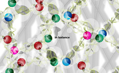 in balance Duplicate (janinebfernandez) Tags: space balance circles christmas color atoms people life lives interconnected shadows constraint chaos stories design designer