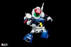 LEGO SD VIFAM (STICK KIM) Tags: 80s roundvernian vifam robot mecha sd chibi moc lego