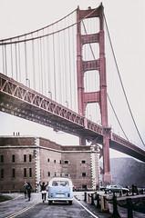 Golden Gate Bridge, San Francisco (FedeSK8) Tags: fedesk8 federicoscottophotography bridge golden gate vw fedescotto nikon d7000 california san francisco volkswagen
