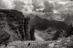 Vedute vertiginose (Marco Damilano) Tags: paessaggi montagne trentino biancoenero bn blackendewhite pesaggiinbn