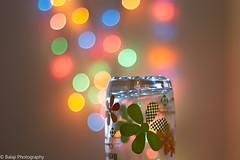 Holiday Bokeh (Balaji Photography : 6 Million+ views) Tags: green bokeh colors dots seasonsgreetings macro designs joy cheer merry happiness happychristmas happyxmas lights colordots colorful