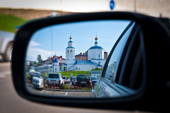 Kazan - Reflection (romanovkzn) Tags: татарстан tatarstan казань kazan город city отражение reflection архитектура architecture храм церковь temple church