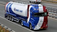 NL - Jonker & Schut DAF XF 106 SSC (BonsaiTruck) Tags: spitzer schauwens katoen natie daf lag jonker schut xf 106 lkw lastwagen lastzug silozug truck trucks lorry lorries camion caminhoes silo bulk citerne powdertank