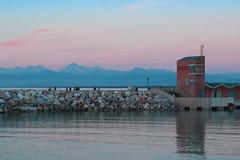 Sunset in Marina di Pisa 1  #sunset #marinadipisa #pisa #lightblue #red #fairy (andrea.macchi1) Tags: red pisa lightblue marinadipisa sunset fairy