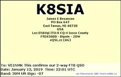 Amateur Radio QSL Card (celticpixl) Tags: amateur radio qsl card