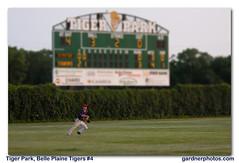 Tiger Park, Belle Plaine Tigers #4 (gardnerphotos.com) Tags: baseball townball minnesota mn belleplainmn amateurbaseball ballparks stadium summergardnrphotoscom
