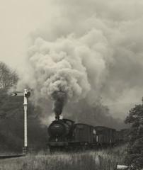 Sadlers house (feroequineologist) Tags: 65894 lner railway train steam nymr northyorkshiremoorsrailway