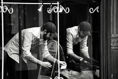 Sale Tag (Bury Gardener) Tags: suffolk streetphotography street streetcandids snaps strangers candid candids people peoplewatching folks nikond7200 nikon burystedmunds bw blackandwhite britain england eastanglia uk 2019 monochrome mono m abbeygatestreet