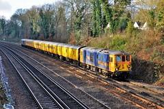 73965 (stavioni) Tags: gbrf gb railfreight class73 electro diesel rail railway test train network yellow