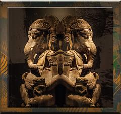 Ganesha (seguicollar) Tags: imagencreativa photomanipulación art arte artecreativo artedigital virginiaseguí escultura ganesha espejo mirror ganapati suerte buenasuerte elefante
