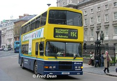 Dublin Bus RA197 (95D197). (Fred Dean Jnr) Tags: april2005 dublin dublinbus busathacliath dublinbusyellowbluelivery volvo olympian alexander r collegegreendublin dublinbusroute15c ra197 95d197
